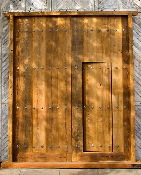 Puertas y portones carpinter a pampa - Puertas viejas de madera ...